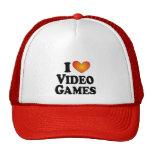 I videojuegos (del corazón) - camiseta de muchos p gorros