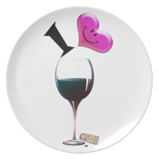I vino del corazón plato de cena