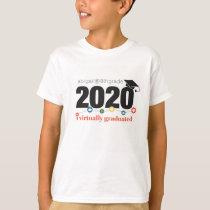 I Virtually Graduated Personalized T-Shirt