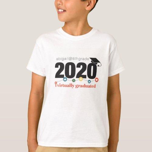 I Virtually Graduated Personalized T_Shirt