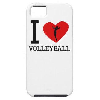 I voleibol del corazón iPhone 5 carcasas