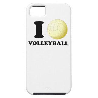 I voleibol del corazón iPhone 5 Case-Mate funda