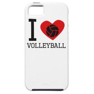 I voleibol del corazón iPhone 5 Case-Mate coberturas