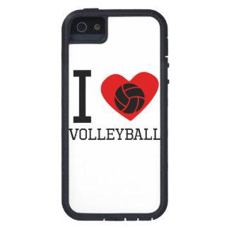 I voleibol del corazón iPhone 5 protectores