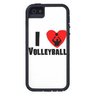 I voleibol del corazón iPhone 5 coberturas