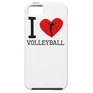 I voleibol del corazón iPhone 5 carcasa