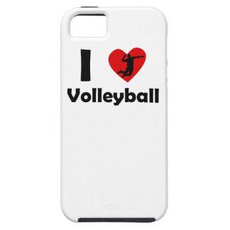 I voleibol del corazón iPhone 5 protector