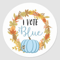I VOTE BLUE Gender Reveal Baby Shower Game Labels