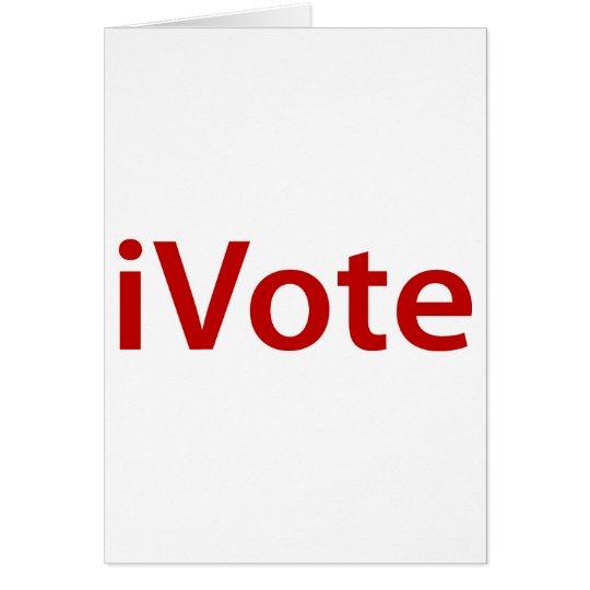 i Vote Card