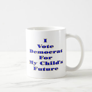 I Vote Democrat Mugs