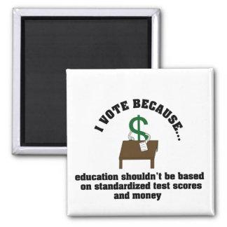 I vote education magnet