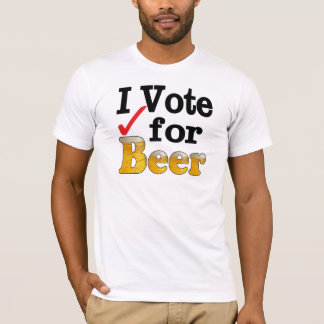 Mens Jem Navy Heather Blue I Vote for Beer Graphic Tee T-shirt ...