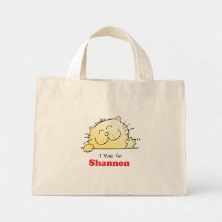 I Vote For Shannon Mini Tote Bag