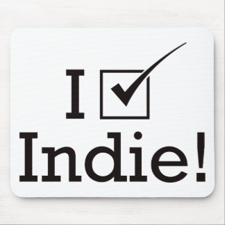 I Vote Indie Mouse Pad