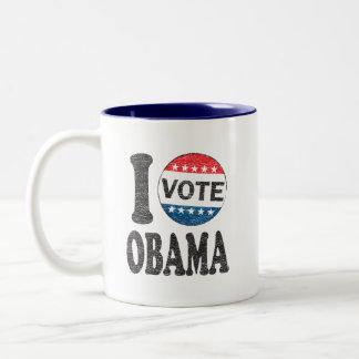 I Vote Obama 2012 Coffee Mug