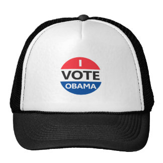 I Vote Obama Trucker Hat
