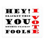 I Vote! Postcard