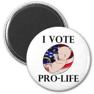 I Vote Pro-Life Magnet