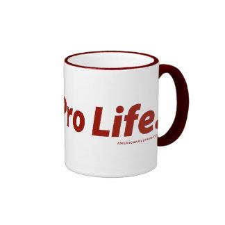 I Vote Pro Life Mugs