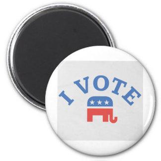 I Vote Republican Magnet