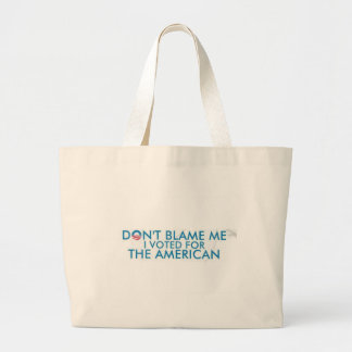 I voted American Large Tote Bag