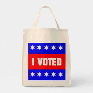 I Voted Canvas Bags