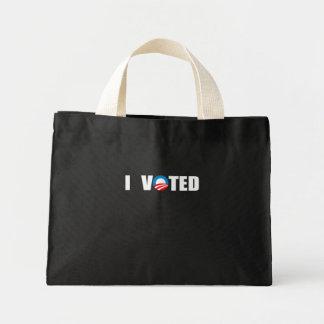 I VOTED CANVAS BAG