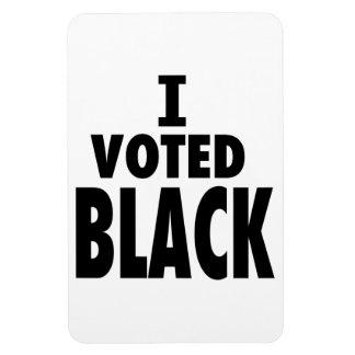 I Voted Black, Obama wins gifts Magnet