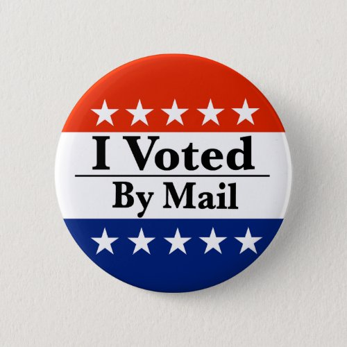 I Voted By Mail Button