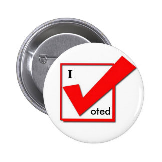 I Voted Check Button