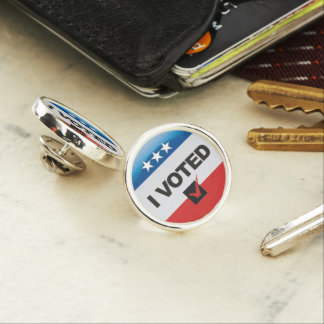 I Voted Commemorative Pin