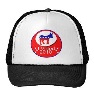 I Voted Democratic in 2010 Trucker Hat