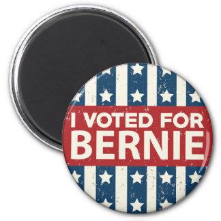 I Voted For Bernie Magnet