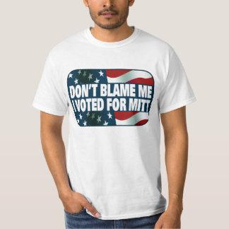 I Voted For Mitt T-Shirt