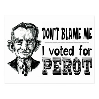 I Voted for PEROT Postcard