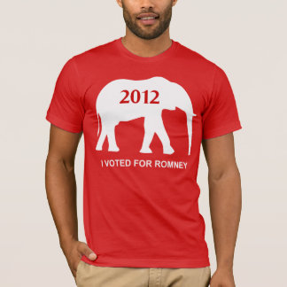 I Voted For Romney Republican T-Shirt