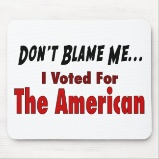 I Voted For The American Mouse Pad