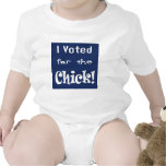 I Voted for the Chick T Shirts