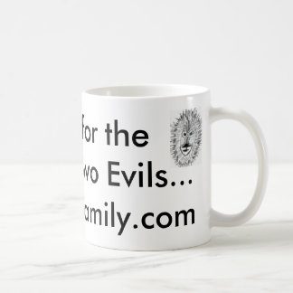 I voted for the Lesser of Two Evils ...clousfamily Classic White Coffee Mug