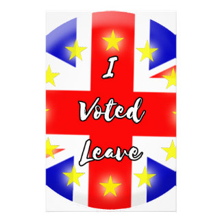i voted leave stationery