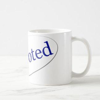 I Voted Mugs