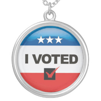 I Voted Necklace