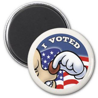 I Voted Nose Magnet