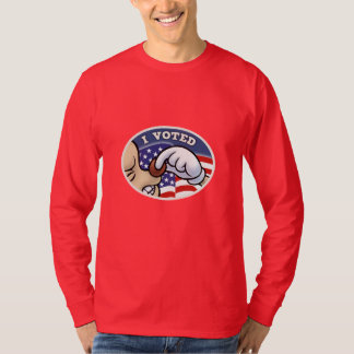 I Voted Nose T-Shirt