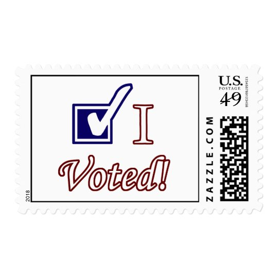 I Voted Postage Stamps
