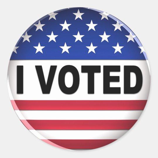 I voted - Sticker