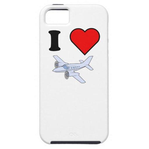 I vuelo del corazón iPhone 5 Case-Mate protector