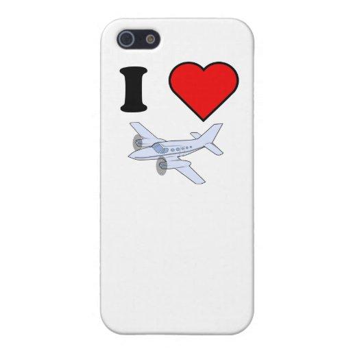 I vuelo del corazón iPhone 5 funda