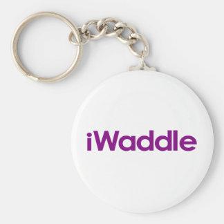 I Waddle Keychain