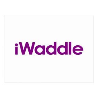 I Waddle Postcard